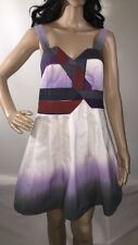 Urban Outfitters Silence Noise Dress Abstract Geometric Quilted Design Sundress