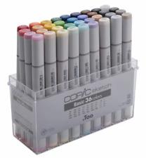 Copic Sketch Basic 36 Colors Artist Markers manga illustration JAPAN F/S NEW