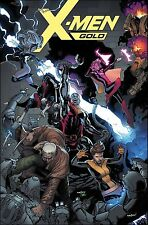 X-MEN GOLD #4 DAVID MARQUEZ VARIANT MARVEL COMICS WOLVERINE GAMBIT KITTY PRYDE