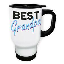 Best Grandpa Stainless Steel Thermo Travel Mug 14oz dd633t