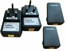 Talktalk Powerline Network through the Mains Adapters Ethernet (D-Link TP-Link)