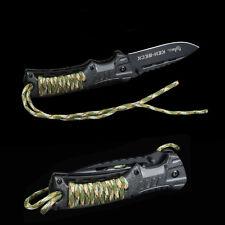 KEH-BECK Nóż knives SURVIVAL KNIFE Messer LINER-LOCK whistle + Fire starter