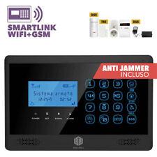 ANTIFURTO ALLARME CASA WIRELESS TOUCH COMBINATORE GSM WIFI INTERNET SMARTLINK200