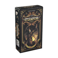 The Steampunk Tarot Cards Deck Game Party Divination Prophet Playing Card 78 pcs