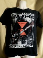 Lita Ford 2012 Comeback Tour T Shirt Medium M Graphic Tee Concert tour
