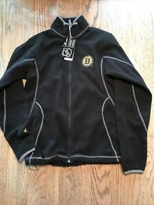 boston bruins full zip jacket