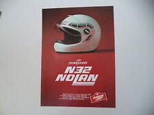 advertising Pubblicità 1981 CASCO HELMET NOLAN N32 N 32