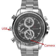 HD Camcorder Waterproof Men Wrist Watch Spy Camera DVR Digital Video Recorder 8G