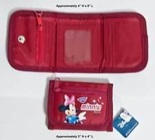 Disney Minnie Mouse Tri Fold Kids Wallet