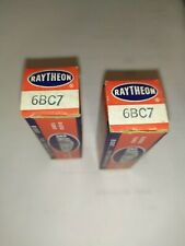 6BC7 RAYTHEON  Nos     Lot de 2 pièces         (CL1/8)