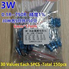 16w 14w 12w 1w 2w 3w Metal Film Resistor Kits 1 Assorted Component Kits