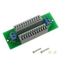 1X Power Distribution Board Distributor 2 Inputs 26 Outputs No Screw for AC DC