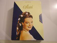 SISSI  /    ROMY SCHNEIDER GERMAN   -- BOX SET  PAL / REGION 2 /  DVD