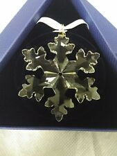 New Genuine Swarovski Crystal Annual Christmas Ornament 2016 Large Snowflake