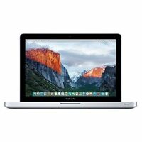 "Apple MacBook Pro   15"" Quad Core i7 2.2GHz 4GB 500GB 2011 MC723"