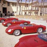 1962 Ferrari s 1962 sports car racing lineup in Factory Maranello OLD PHOTO