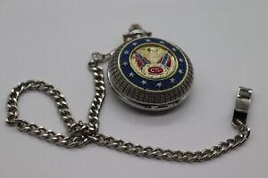 Franklin Mint Civil War Library & Museum Robert E. Lee Pocket Watch
