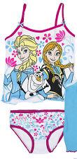Ropa Interior 2 piezas set niñas Camisa SLIP Disney Frozen 92-98 104-110 116-122