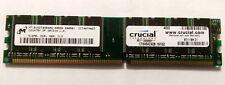 Crucial CT6464Z40B.16TG2 (512MB DDR PC3200U 400MHz DIMM 184-pin) 16C RAM Module
