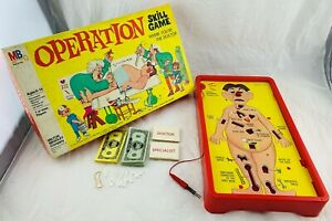 1965 Operation Game by Milton Bradley Complete and Working in Very Good Cond