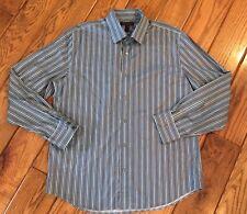 Men's Express Design Studio Modern Fit Button Down Dress Shirt 17 17.5