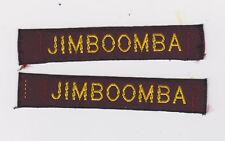 AUSTRALIA / AUSTRALIAN SCOUTS NATIONAL JAMBOREE - JIMBOOMBA SCOUT STRIP PATCH