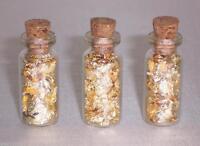 Mini Glass Cork Top Bottles Jewelry Supplies Wedding Favors Decorations 24pcs
