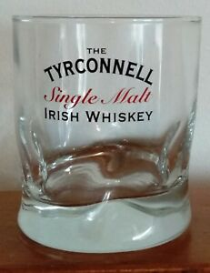 TYRCONNNELL SINGLE MALT IRISH WHISKEY Glass Kilbeggan Distilling Company Ireland
