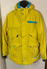 Under Armour STORM Coldgear MTN Snowboarding Ski Yellow Jacket Great Condition!