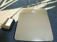 Cisco Linksey Wireless Router E800 with Two Jacks.  Tested and works.