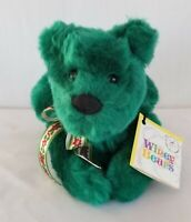 Sally Winey Bears HOLLY LEAF Stuffed SIGNED Numbered To 1000 Autographed
