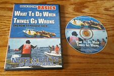 What To Do When Things Go Wrong DVD Nuts and Bolts of Boating Series Back Basics