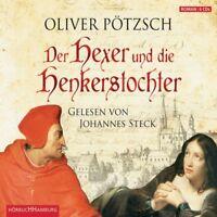 JOHANNES STECK - OLIVER PÖTZSCH: DER HEXER UND DIE HENKERSTOCHTER  6 CD  NEU