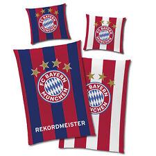 Linon Bettwäsche FC Bayern München REKORDMEISTER Glow in The Dark 135 x 200 Fan