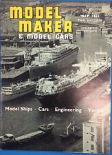MODEL MAKER & MODEL CARS Magazine May 1963 published in Great Britain
