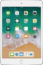 "Brand New Sealed Apple iPad mini 4 128GB 7.9"" Wifi Retina Display Silver"