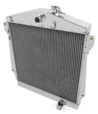 1943-1948 Chevy Cars Aluminum 3 Row Champion Radiator (center/pass hses)