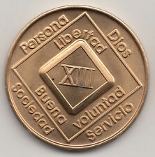 13 Anos XIII - Narcoticos Anonimos recuparse medalla ficha moneda