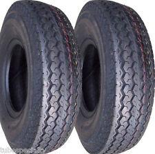 "2) 5.70-8 570-8 5.70x8 570x8 8"" DOT Trailer Tire 8ply LOAD D HIGH SPEED"