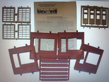 DPM #30172 - Dock Level Steel Sash Entry - HO Scale Modular Building Kit - New