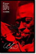 Miles Davis Foto impresión Cartel