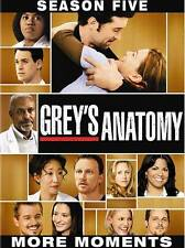 Grey's Anatomy: The Complete Fifth Season DVD Peter Horton(DIR) tote k