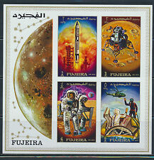FUJEIRA SPACE APOLLO 12  IMPERF MICHEL BLOCK 23B