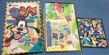 Colorforms Vintage Get Goofy Playset Walt Disney Set Reusable Stickers With Box