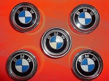 5 original neue BMW 2002 ti /tii / touring / targa & turbo Radnabendeckel  1972