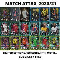 MATCH ATTAX 2020/21 20/21 CHAMPIONS LEAGUE LIMITED EDITIONS 100 CLUB HTH MOTM..