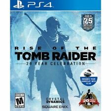 Brand New Sealed Rise of the Tomb Raider: 20 Year Celebration PlayStation 4 Ps4