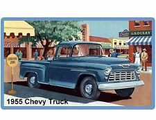 1955 Chevy Apache Task Force Truck Refrigerator / Tool Box  Magnet