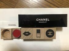 CHANEL Wooden Stamp Set of 3 Limited Edition Giveaway Rare New