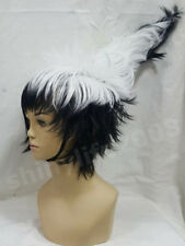 "Neu Cosplay wig ""Prick the ghost"" NURA RISE OF YOKAI CLAN Black White Cos Wig"